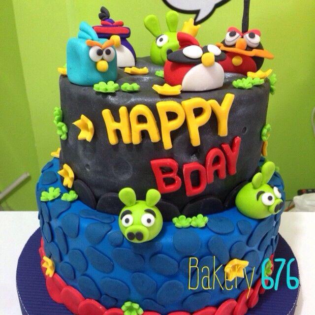 Angry birds Pastel / cake / cupcakes Bakery 676