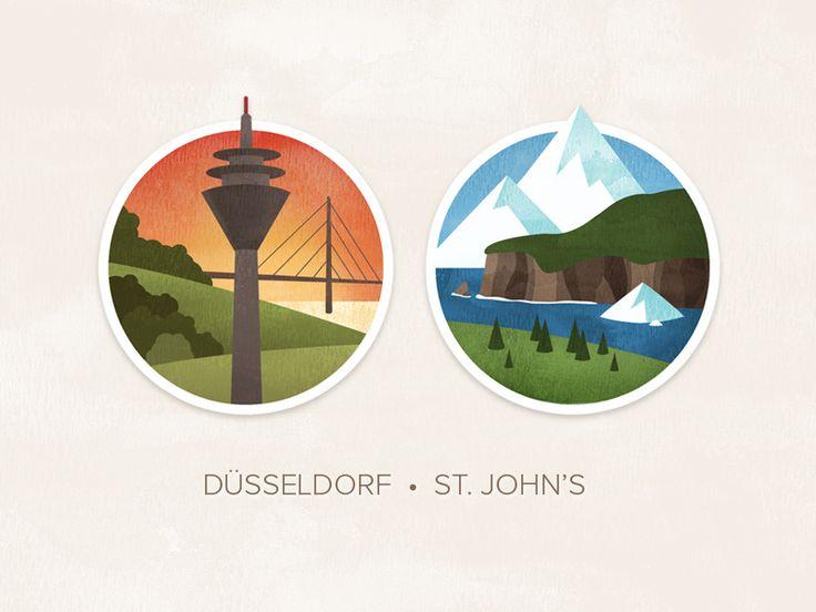 Düsseldorf & St. John's