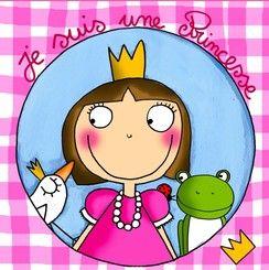 Tableau je suis une princesse 30*30