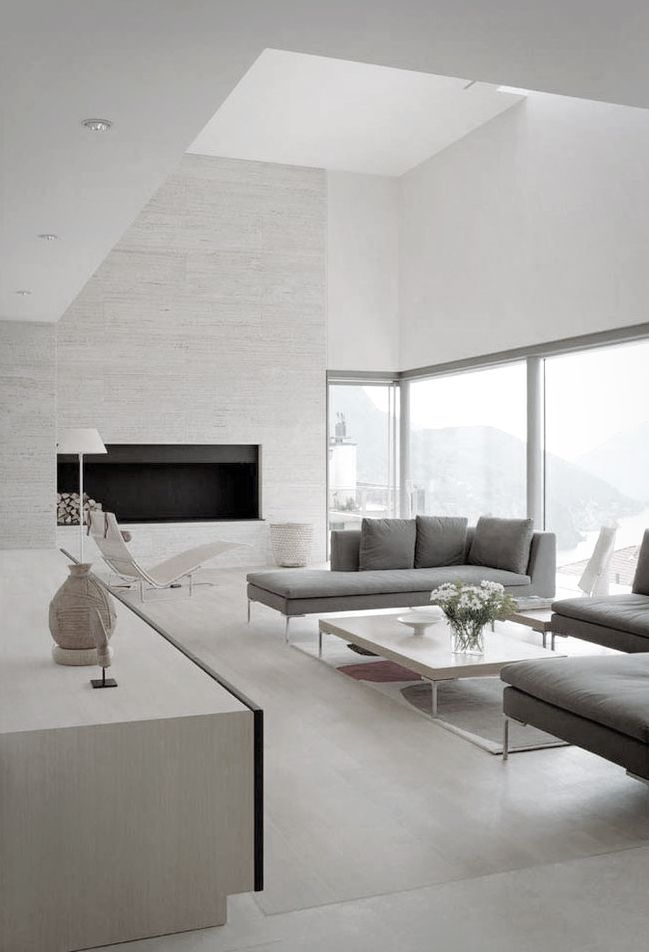 #KBHome Modern Living Room Design At Casa Fontana by Stanton Williams Architects Photography