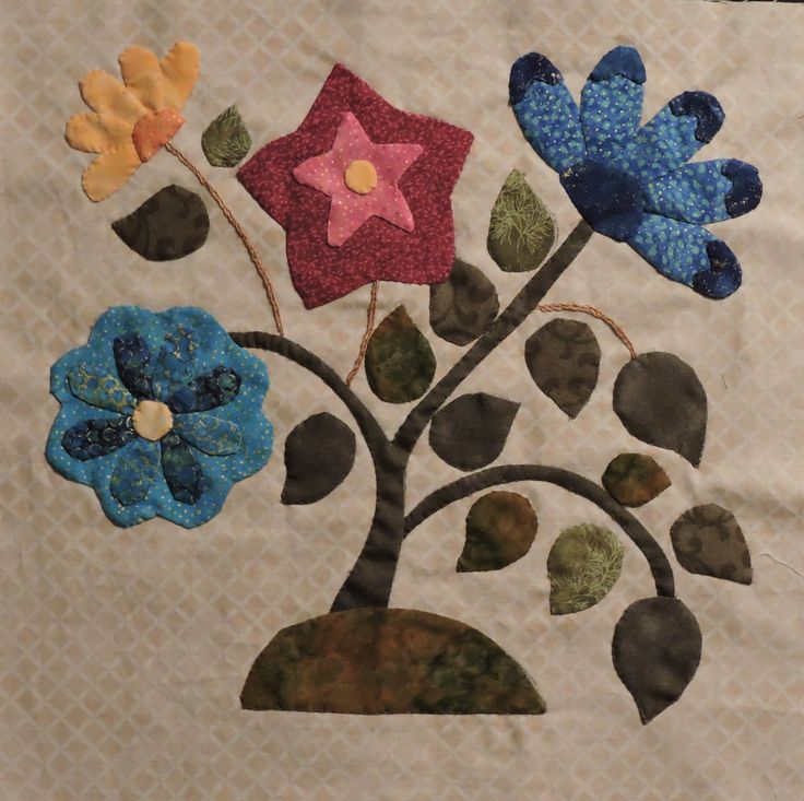Block from Caswell Quilt - 2014