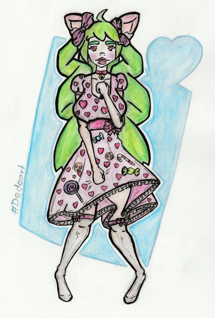 Candy-Meow {#DedoSP/commission giveaway } by Steamy-Punks.deviantart.com on @DeviantArt