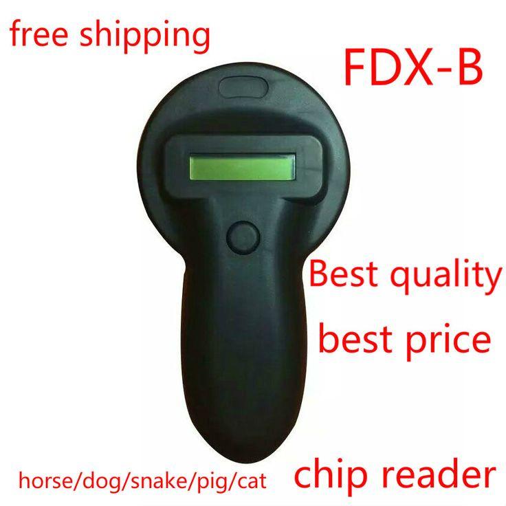 FDX-b Cầm Tay Động Vật Reader Động Vật chip reader dog chip reader mèo chip Scanner Ngựa Máy Quét RFID