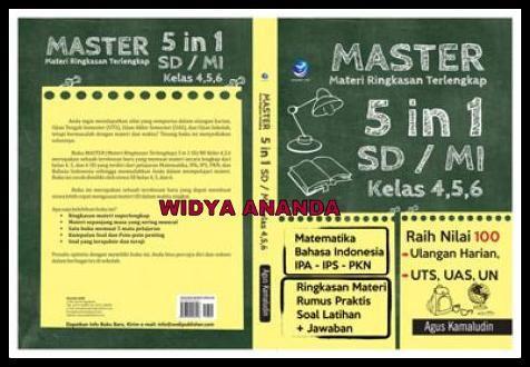 Master, Materi Ringkasan Terlengkap 5 in 1 SD/Mi Kelas 4,5,6 (Matematika, Bahasa…