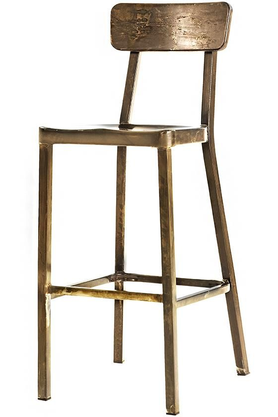 Jacob Stackable Aluminum Bar Stools - Set of 2 - Metal Stools - Stackable Stools | HomeDecorators.com