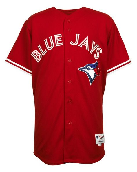 Check out the 2012 Canada Day jerseys for the Toronto Blue Jays.