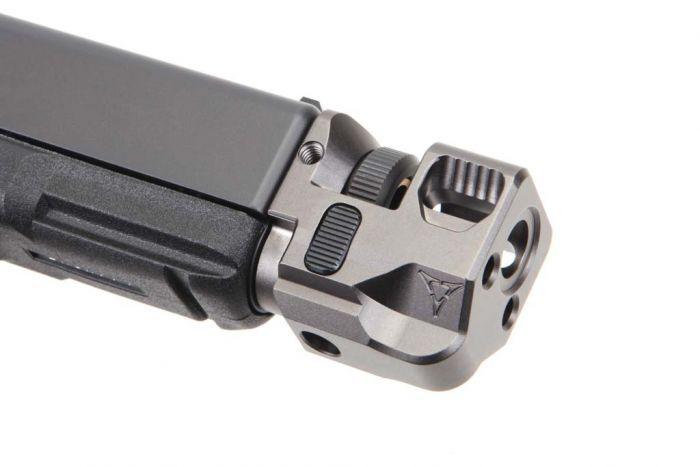 Killer Innovations Velocity Glock Compensator - Black Nickel