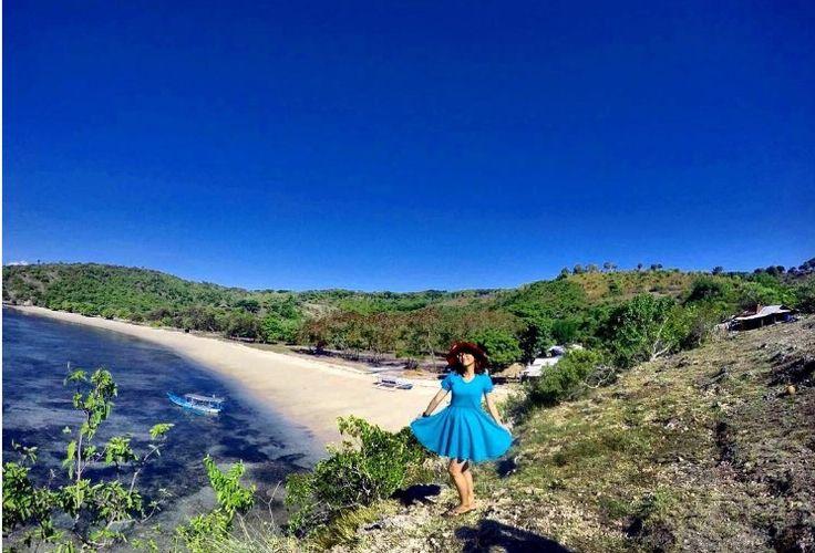 Foto di pantai pink lombok