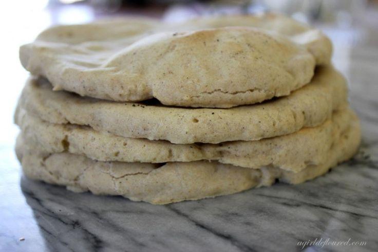 Gluten-Free Flatbread @Alison | a girl defloured  @G-Free Foodie - Gluten Free #GlutenFree