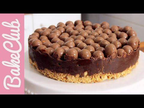 Σοκολατένια τούρτα ψυγείου με μπισκότα και Maltesers (Video)! |