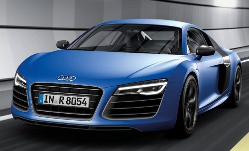 Audi flagship car R8 V10 plus launch in india on april 4.New audi R8 V10 plus release with 1.57 crore.The luxury audi flagship R8 V10 produce 550 bhp power.