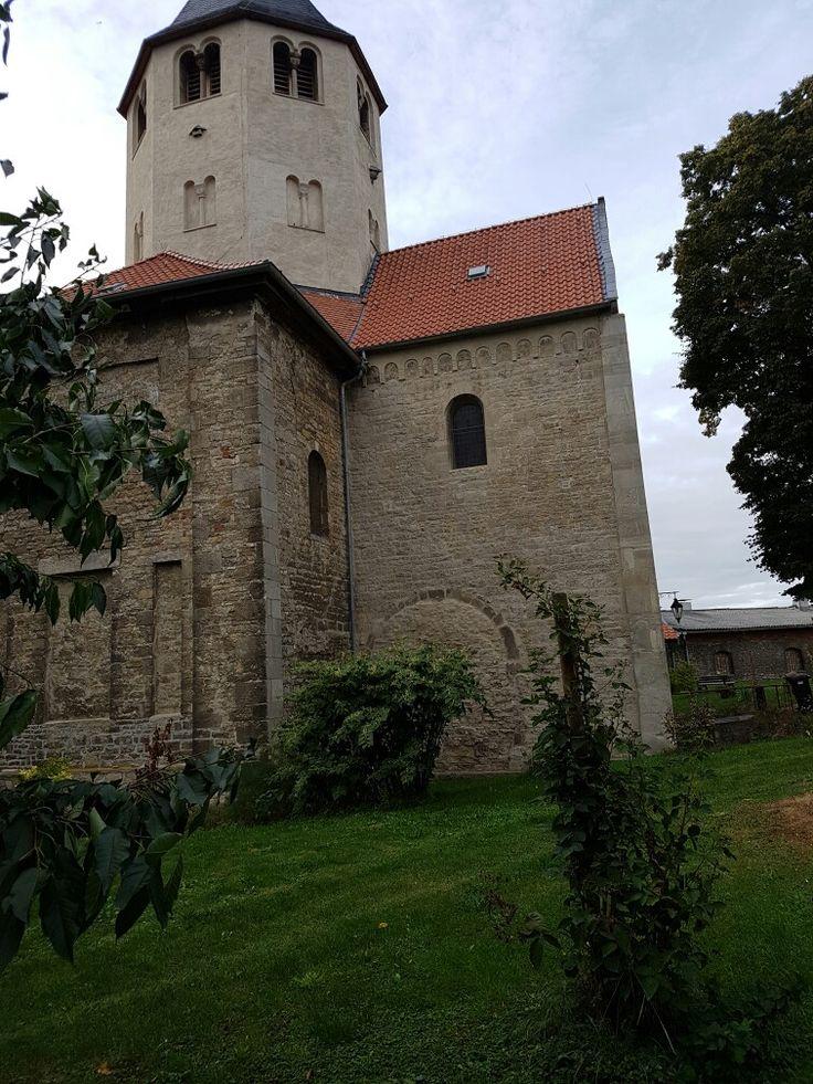 Kloster Gröningen an der Straße der Romanik.  War an dem Tag leider geschlossen.