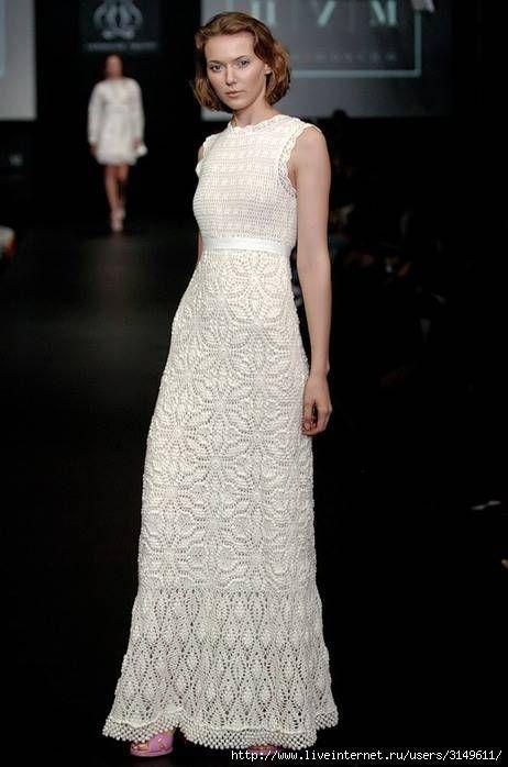 uzun dantel elbise