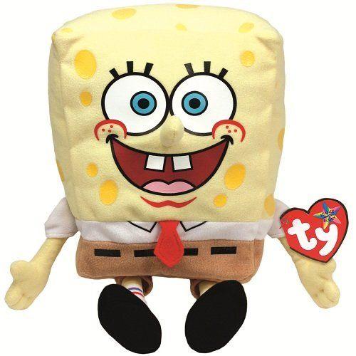2 X Ty Beanie Buddy Spongebob SquarePants @ niftywarehouse.com #NiftyWarehouse #Spongebob #SpongebobSquarepants #Cartoon #TV #Show