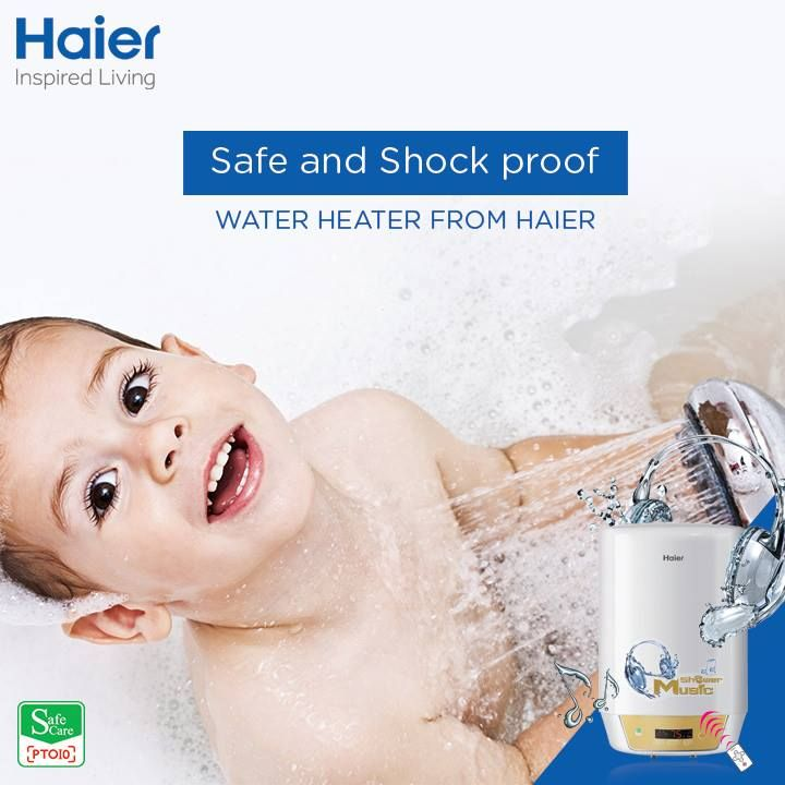 #Haier presents #WaterHeater with shock proof technology, a specially designed structure to avoid electricity leakage and avoid shock accidents. #HaierIndia #Innovation #Technology #Appliances #HomeAppliances #Geyser #InspiredLiving