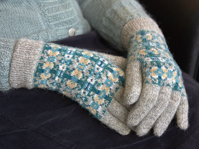 255 best Knitting : gloves images on Pinterest | Knitting ...
