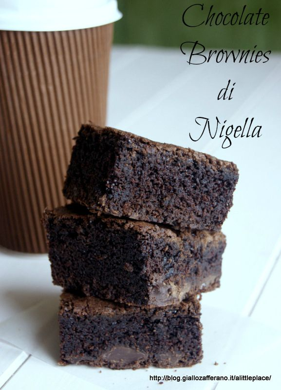 Chocolate Brownies di Nigella