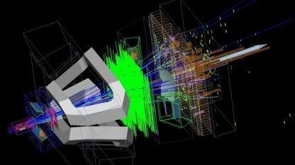 Große Entdeckung oder nur statistische Schwankungen? Forscher am Teilchenbeschleuniger LHC haben beim Zerfall von Teilchen Abweichungen vom Standardmodell gefunden.