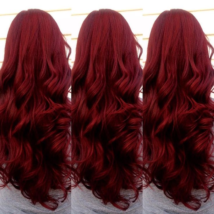 """1,492 Likes, 83 Comments - Ursula Goff (@uggoff) on Instagram: """"Throwback to Emma's Merlot mermaid hair. You can get richer, deeper reds like this by only…"""""""