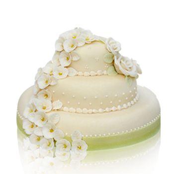 Barackvirágos torta