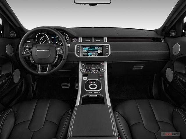 2015 Land Rover Range Rover Evoque Interior | U.S. News Best Cars