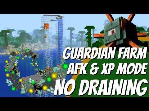 How to make an EASY Guardian Farm with NO DRAINING in