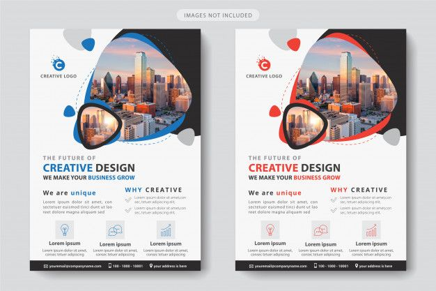 Freepik Graphic Resources For Everyone Business Template Business Flyer Templates Corporate Flyer