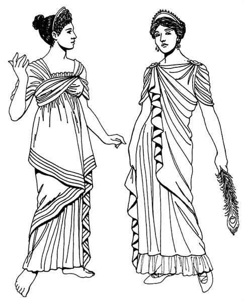 Костюмы древний рим древняя греция женский картинки