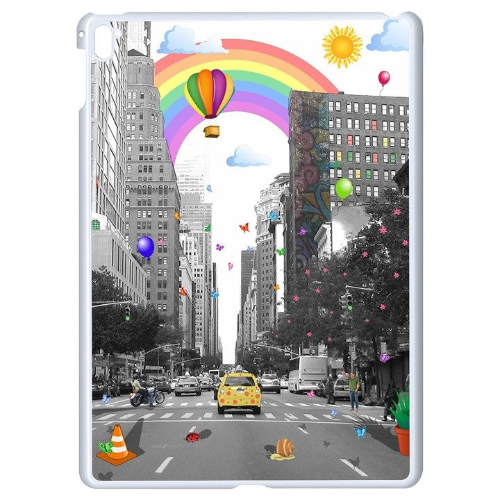 Downtown Dream Apple Ipad Pro 9 7 White Seamless Case Wall Art Dream Art Vivid Colors