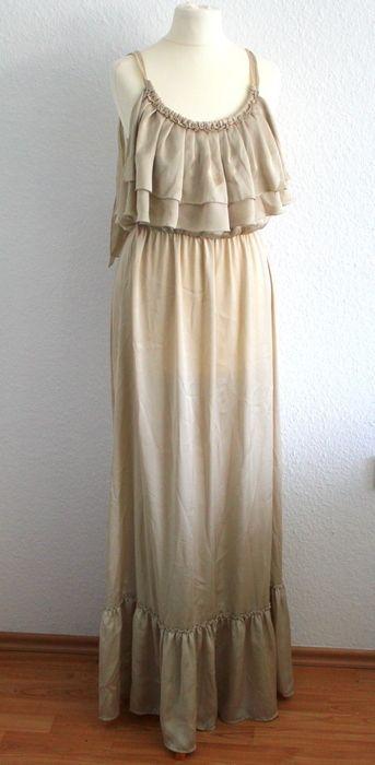 Mein Maxi Kleid beige Abendkleid Gr. S von ! Größe 36 / S / 8 für 15,00 €. Sieh´s dir an: http://www.kleiderkreisel.de/damenmode/lange-kleider/141166697-maxi-kleid-beige-abendkleid-gr-s.