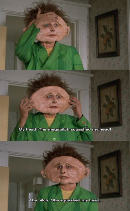 hahahahah drop dead Fred! literally just watched this the other night! throwback