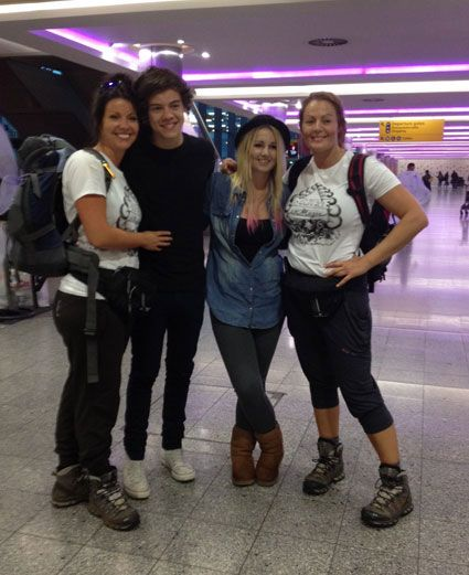Anne Cox and Harry Styles...this was right before anne climbed kilimanjaro