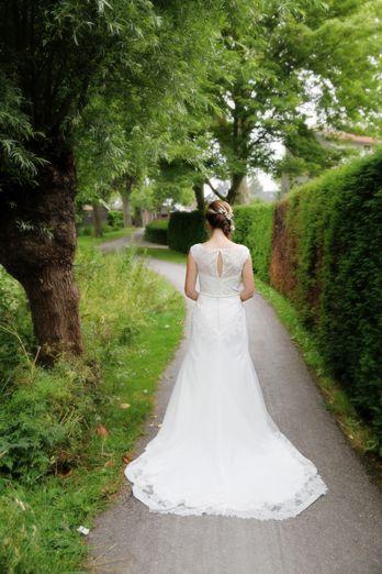 Mooie trouwjurk