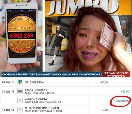 WERKNEMER UIT NEEMT ONSTLAG ALS EEN BAAS NADAT ZE TIJDENS HAAR LUNCHPAUZE €362.259 HEEFT GEWONNEN!