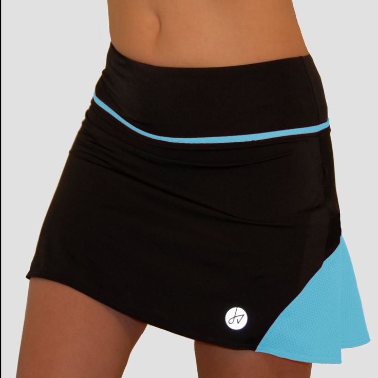Light Blue Running Skirt, Tennis Skirt, Activewear Skirt, Golf Skirt, Dance skirt by Jenny Vals