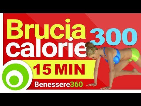 Come bruciare 300 calorie in 15 minuti | Rimedio Naturale