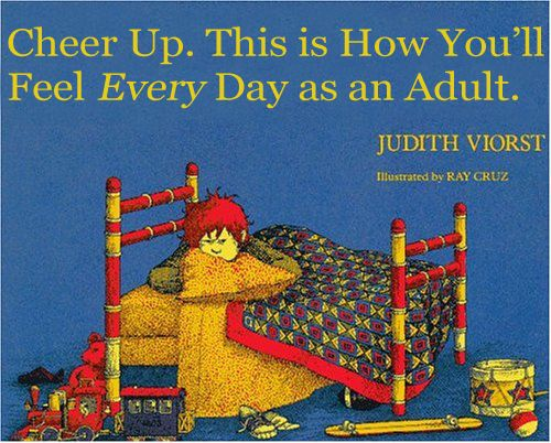 Better Book Titles: Alexander and the Terrible, Horrible, No Good, Very Bad Day