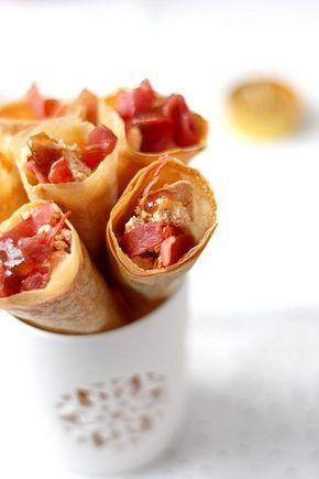 Une idée originale pour présenter votre foie gras à l'apéritif : des cônes de foie gras. Effet surprise garanti !