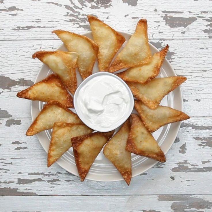 Mashed Potato Wontons Recipe by Tasty