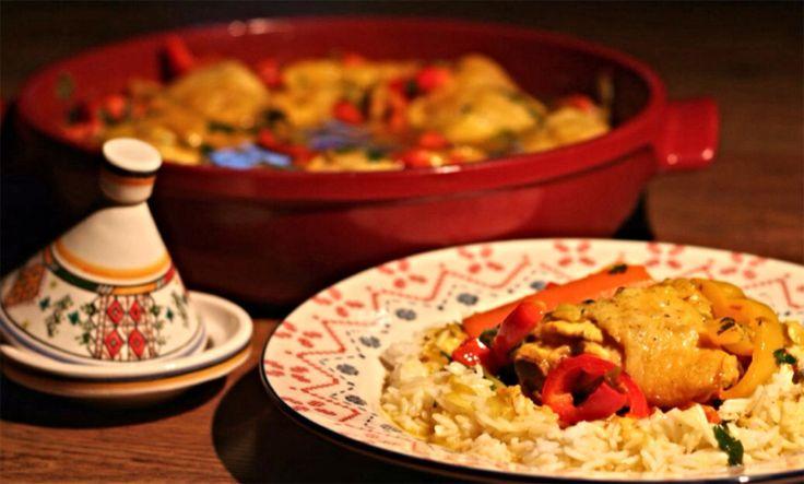 Marokkói csirke