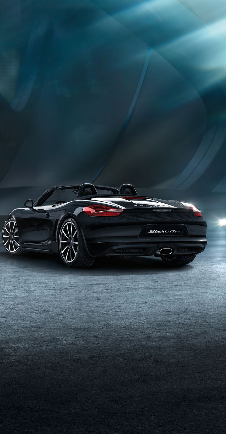 The new Boxster Black Edition. Learn more:  http://link.porsche.com/black-edition-boxster-pin-gallery *Combined fuel consumption in accordance with EU 6: 8.4 -7.9 l/100 km; CO2 emissions 195-183 g/km