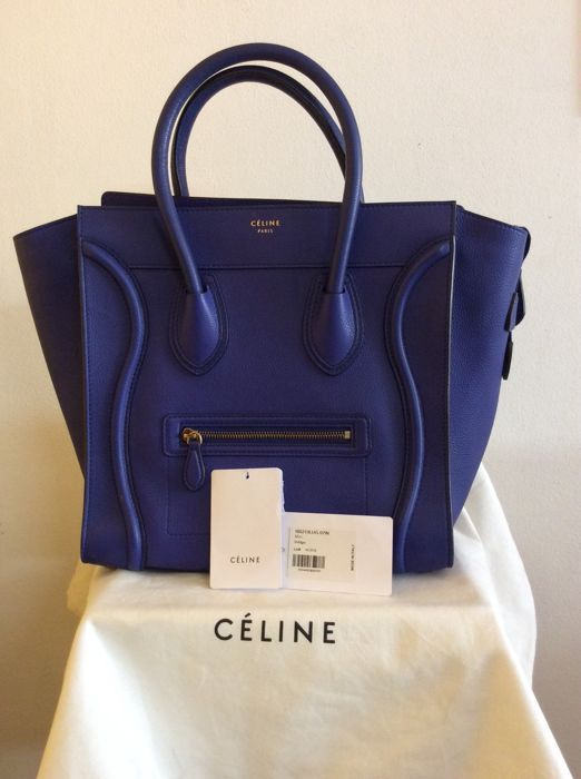 c8d51f481 Online veilinghuis Catawiki: Céline - Mini Luggage handbag/shoulder bag