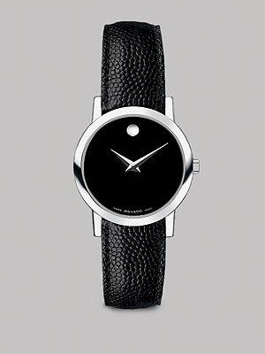 Movado Watch....I love BLACK