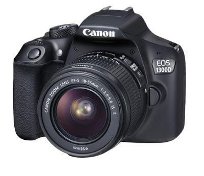 Canon EOS 1300D with lens 18-55mm IS II Kamera DSLR | specification