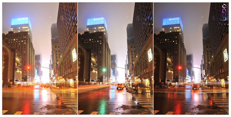 LDDA design & architecture (laurence de groote) - The streets of New-York - Triptych 03