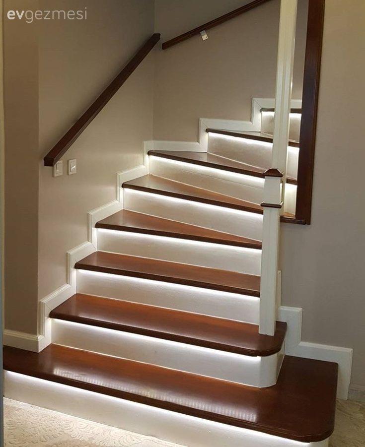Beleuchtung, LED-Licht, Treppen – #beleuchtung #LE…