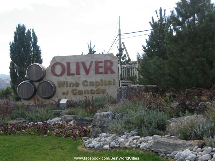 Penticton (Canada) -yes some of the best BC wineries are located here