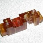 #ultem #2400 Applications Aircraft components Electrical components Circuit boards Microwave applications Computer circuity Automotive applications Pump and valve parts Advantages High dielectric strength Available in glass reinforced grades High strength Performs in continuous use for 340 degrees F Grades Ultem® 1000 Ultem® 2100 Ultem® 2200 Ultem® 2300    NOTE: Several grades of this material are available. For additional information regarding this plastic, contact ...