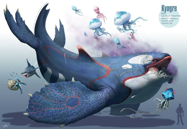 Giant Pokemon Roams The Deep, Murdering All The Fish