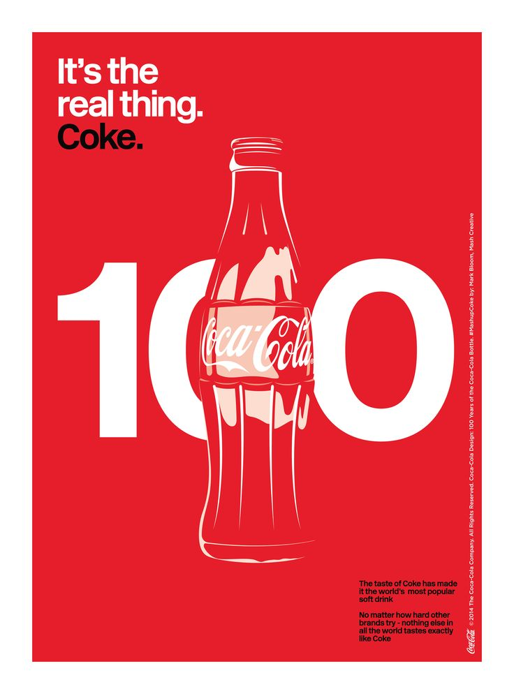 Kiss The Past Hello. Coca-Cola Design: 100 Years of the Coca-Cola Bottle. #MashupCoke by: Mark Bloom, Mash Creative @mashcreative